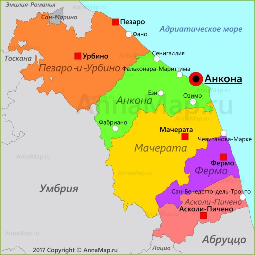 Карта Марке
